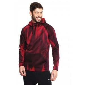 Nike Men Red Therma Printed Training PULLOVER hood